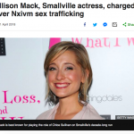 """Allison Mack Did Nothing Wrong"": The Insane Story Of A Hollywood Sex Slave Cult, And What It Reveals About Female Psychology"
